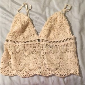 Kendall and Kylie Crochet Top